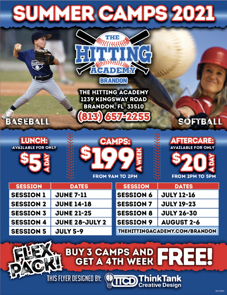 Summer 2021 Camp Flyer